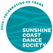 Sunshine Coast Dance Society logo