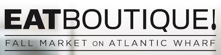 Eat Boutique Fall Market on Atlantic Wharf