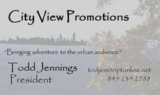 City View Promotions logo