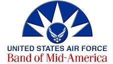 USAF Band of Mid-America logo
