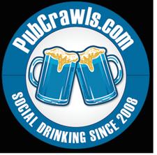 PubCrawls.com - 888-998-6609 logo