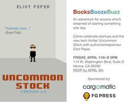 BooksBoozeBuzz - Book Launch Happy Hour