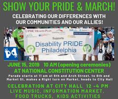 Disability Pride Philadelphia Parade Celebration Tickets Sat Jun