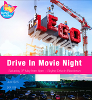 Touched by Olivia Drive In Movie Night - The Lego Movie