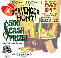6th Annual $500 Downtown Atlanta Scavenger Hunt