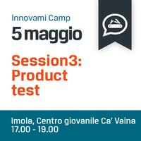 INNOVAMI CAMP - Product test