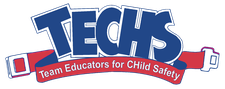 PA TECHS (Team Educators for Child Safety) logo