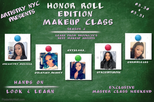 Artistry NYC Presents: Honor Roll Edition Makeup Class Tickets, Sat, Mar 30, 2019 at 10:00 AM   Eventbrite