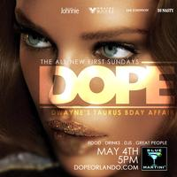 Dope Blue Martini Orlando May 4th