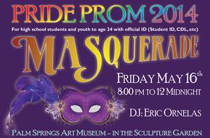 Pride Prom 2014 - Masquerade Ball