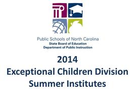 2014 Educational Interpreter Summer Institute
