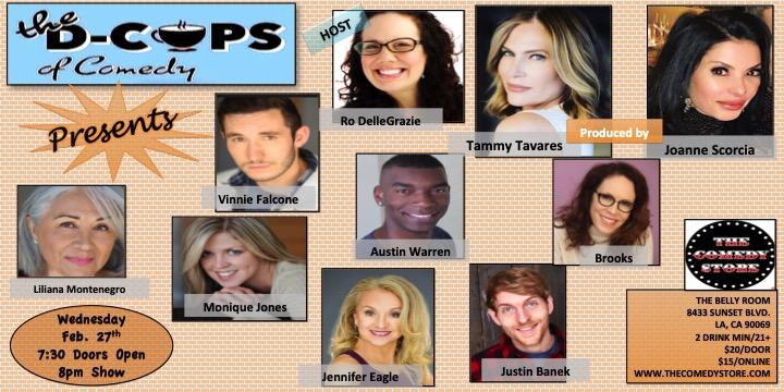 The D-Cups of Comedy Present Thursday Night Comedy