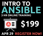Introduction to Ansible Online Training - 3 hours