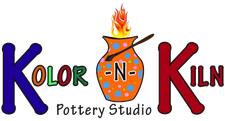 Kolor-N-Kiln Pottery Studio logo