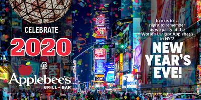 Broadway Themed Food Ideas 2020 The BEST 2020 New Year's Eve Party at the LARGEST Applebee's in