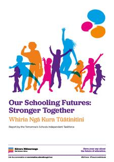 Tomorrow's Schools Review Independent Taskforce logo
