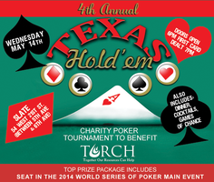 4th Annual Texas Hold'em Charity Poker Tournament to...