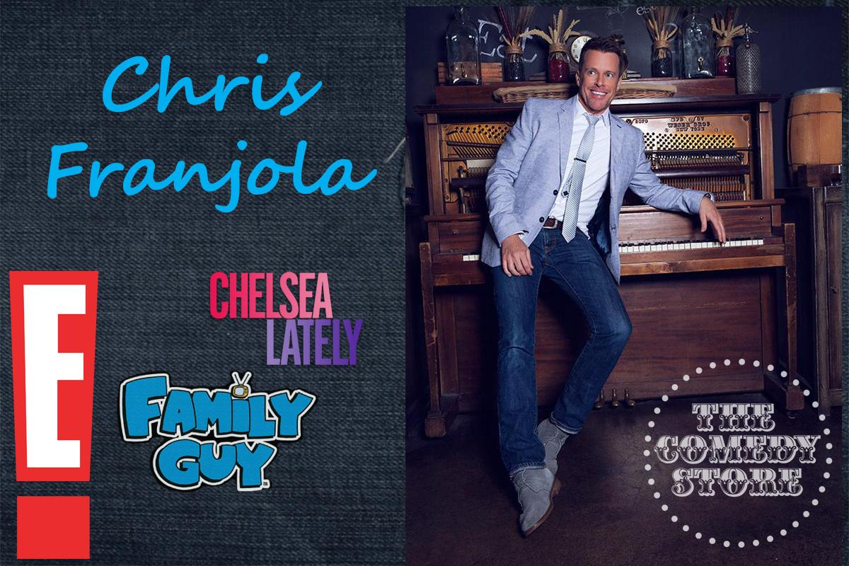 Chris Franjola  - Friday - 7:30pm