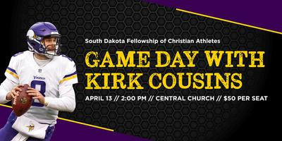 FCA Game Day with Kirk Cousins