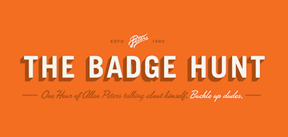 Allan Peters: The Badge Hunt