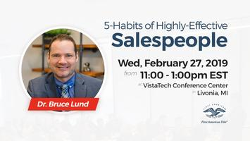 5-Habits of Highly-Effective Salespeople