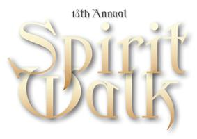 18TH ANNUAL SPIRIT WALK -     Friday, October 19th