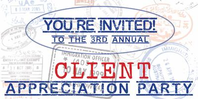 3rd Annual Client Appreciation Party