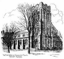 First Unitarian-Universalist Church of Detroit logo