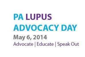 PA LUPUS Advocacy Day - May 6, 2014
