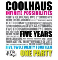COOLHAUS 5 Year Anniversary Party - Benefiting 9 Dots...