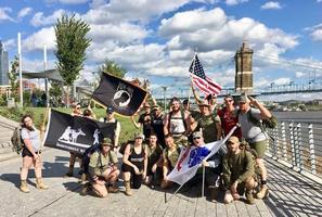 Irreverent Warriors Silkies Hike - Cincinnati
