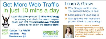 More Traffic To Your Website Using SEO in 10 Min/Day...