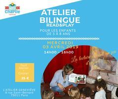 Atelier bilingue Read&Play(lecture, DIY et goûter)