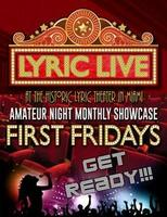 LYRIC LIVE @ The Historic Lyric Theater Cultural...
