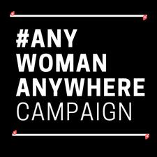 #AnyWomanAnywhere Campaign logo