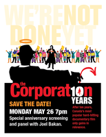 The Corporation 10th Anniversary Fundraiser Screening