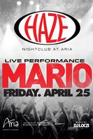 Mario Performs Live @ HAZE Nightclub