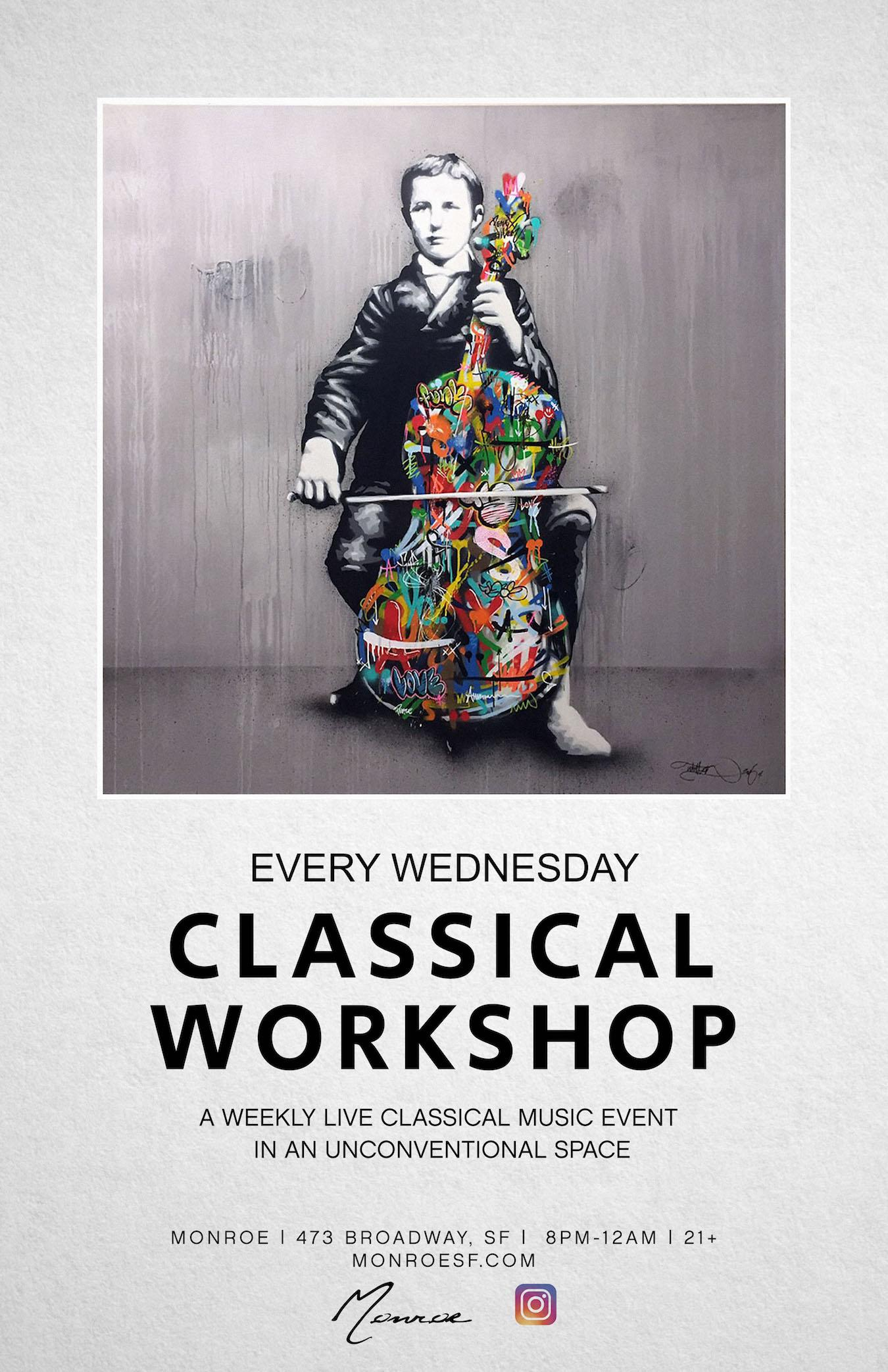 Classical Workshop: Weekly Late Night Live Chamber Music