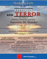 ABRAHAM'S TABLE I Terror & Religion