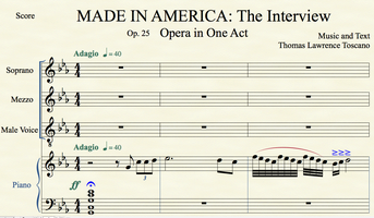 World Premiere One-Act Opera - Co-Produced by St....