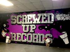 DJ Screw's Official Screwed Up Records and Tapes logo