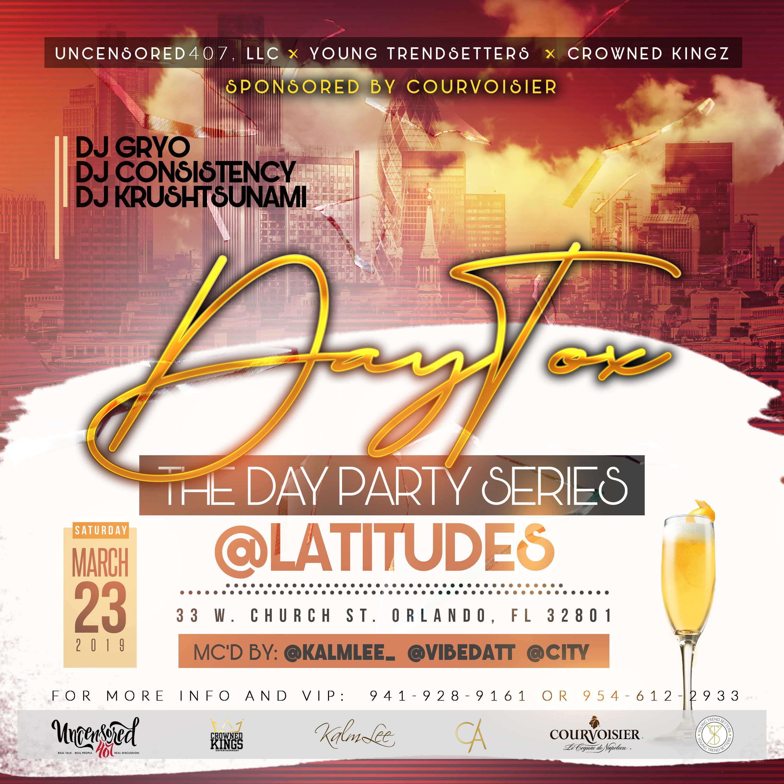 """DayTox """"The Day Party Series"""""""