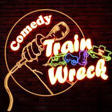 Train Wreck Comedy logo