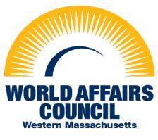 The World Affairs Council of Western Massachusetts logo