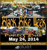 Black Bike Weekend 2014 Party Bus