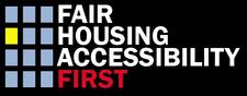 Fair Housing Accessibility FIRST & HUD logo