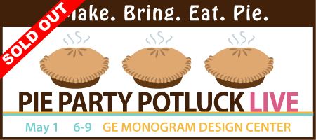 Pie Party Potluck LIVE! 2014