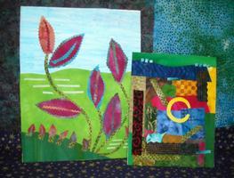 Fabric Art Without Needle & Thread