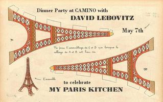DINNER PARTY at CAMINO with DAVID LEBOVITZ