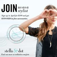 April ~ Mississauga Stella & Dot Local Opportunity chat